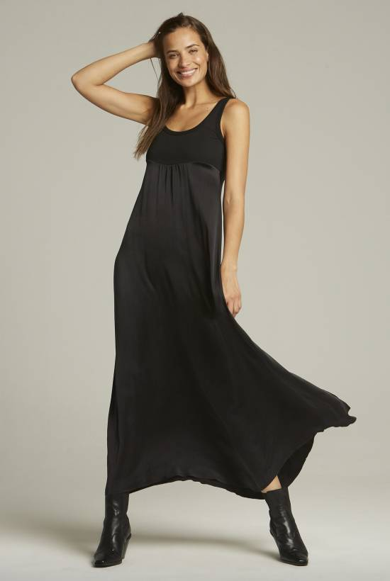 Seda Combi Long Dress