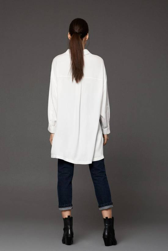 Canvas Long Shirt