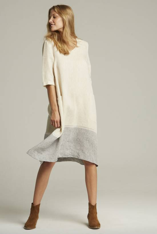 Lino Combi Dress