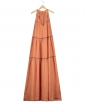 Lino Combi Long Dress