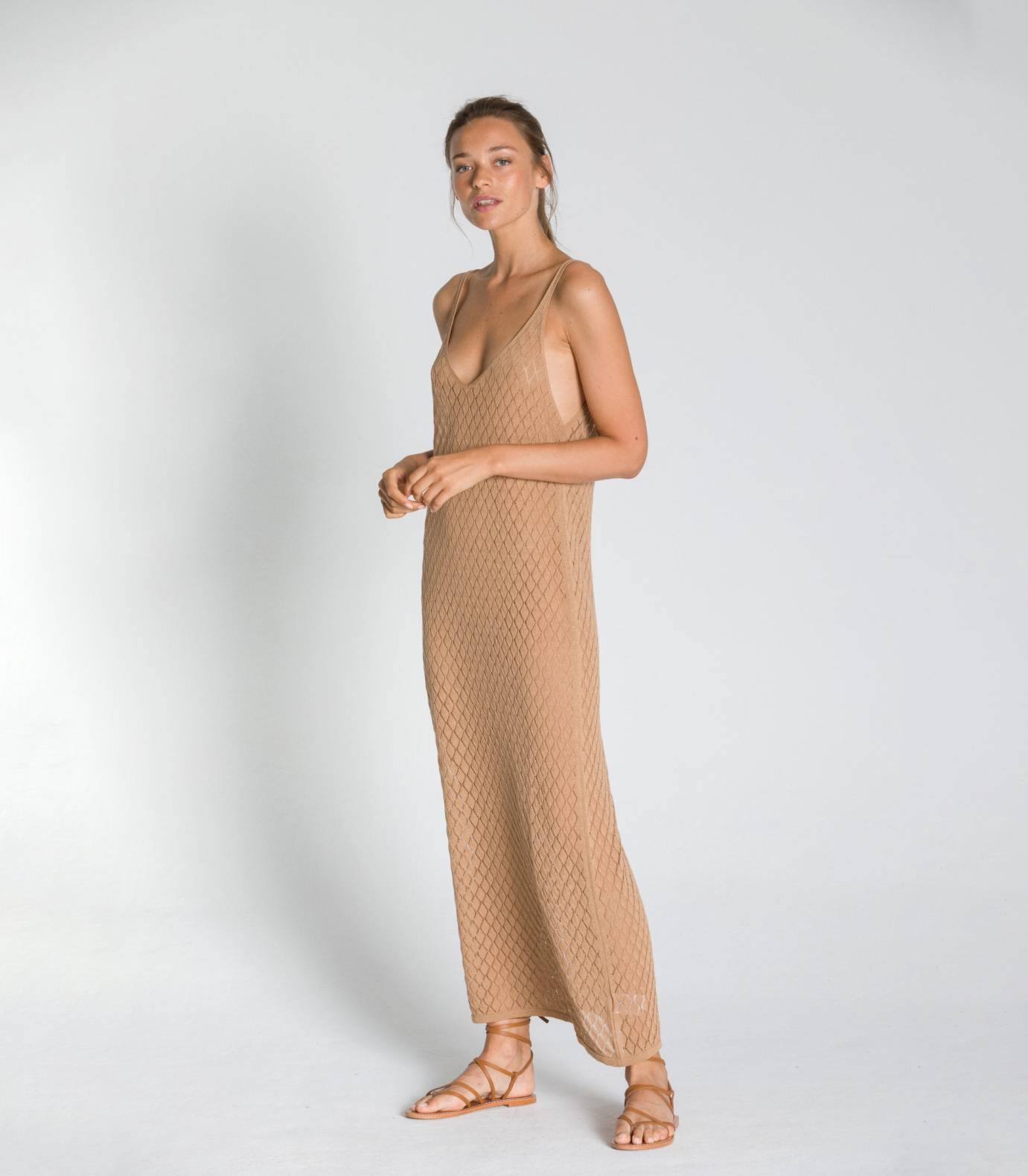 POINTELLE DRESS TCN