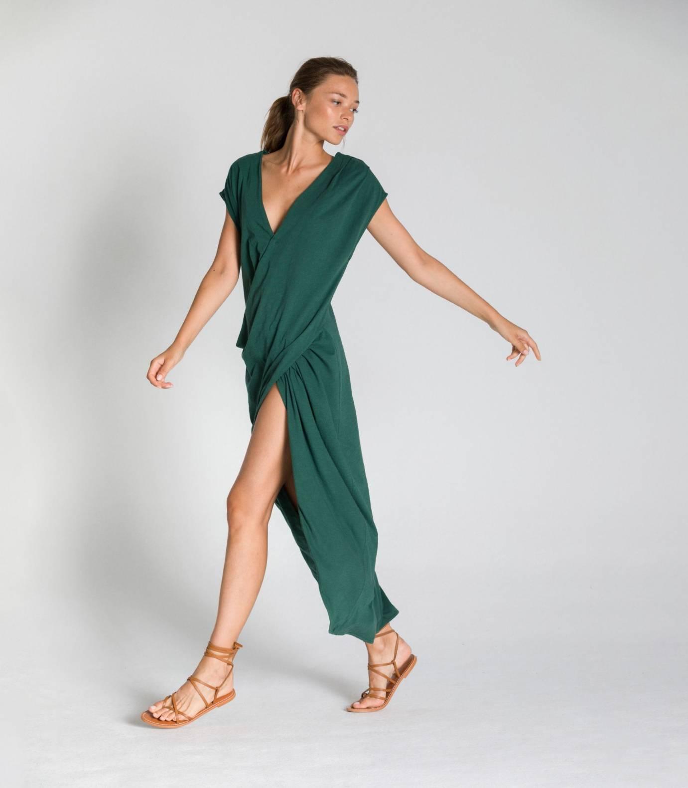DRAPPED DRESS TCN