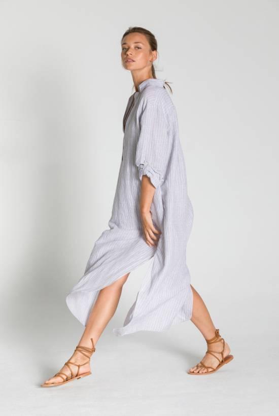 SAND SHIRT DRESS