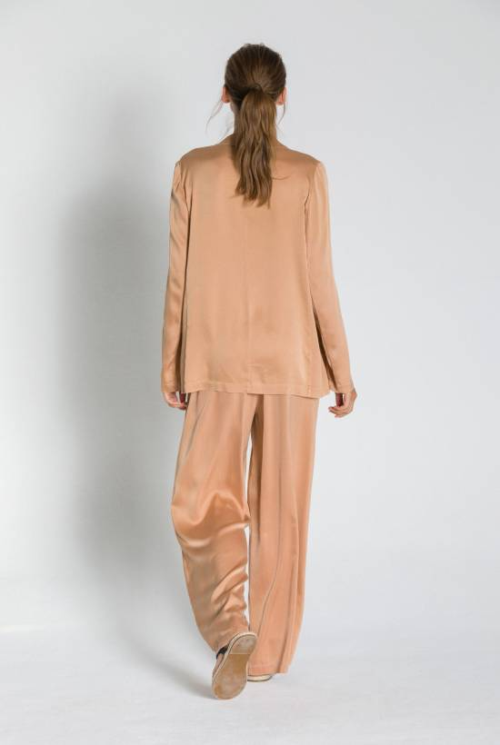 SILK WIDE PANTS