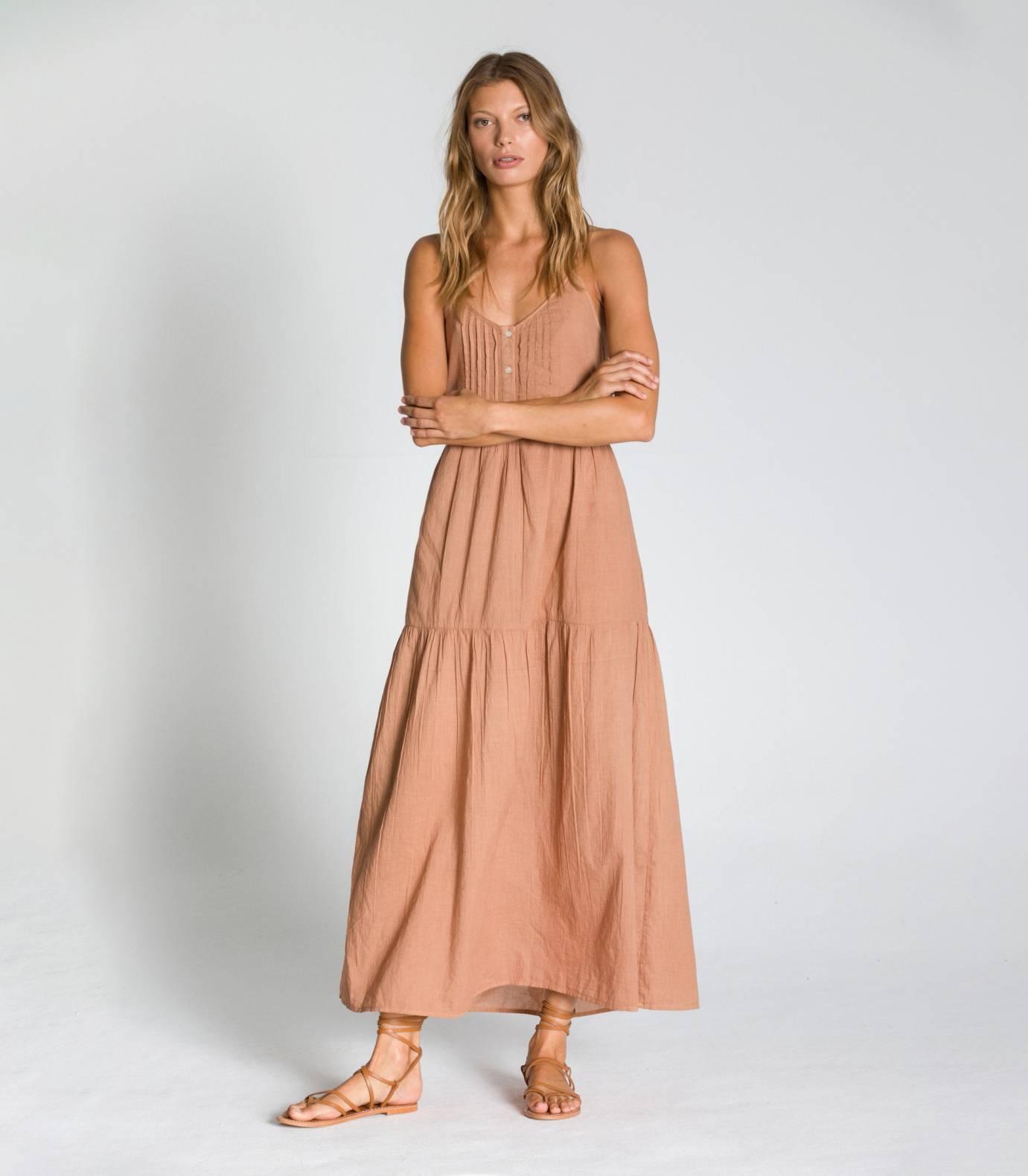 VOILE LONG DRESS TCN