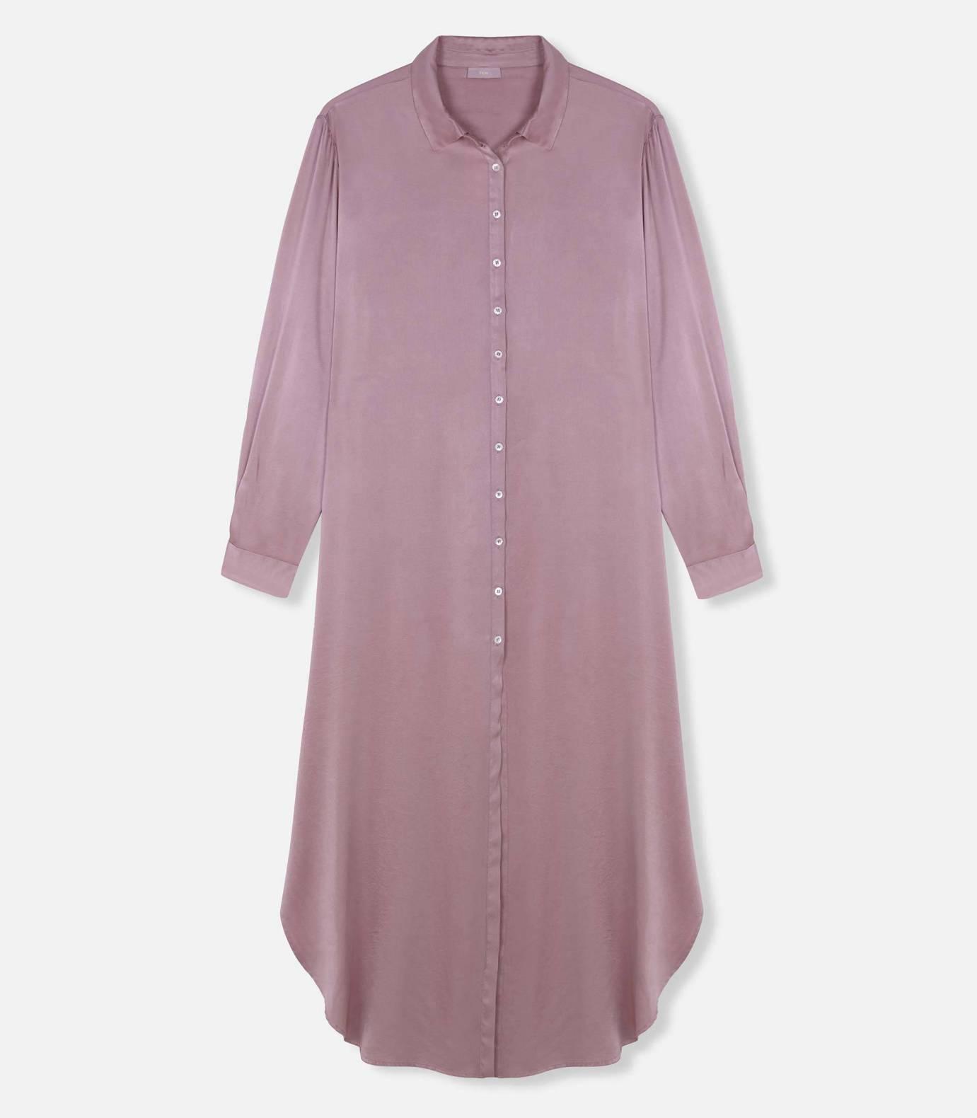 CAMISERO SILK DRESS