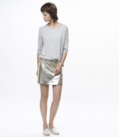 Ante Silver Skirt