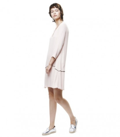 Crepe Marroquine Dress
