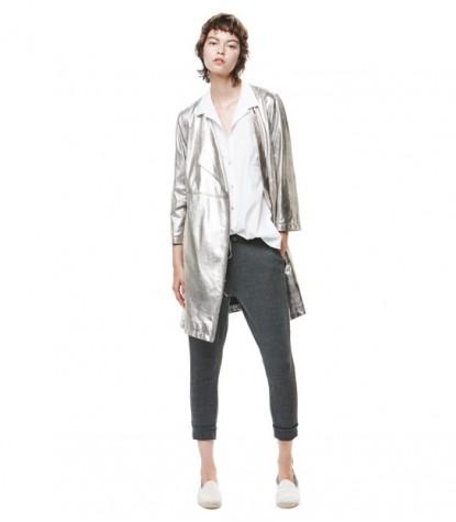 Ante Silver Long Jacket