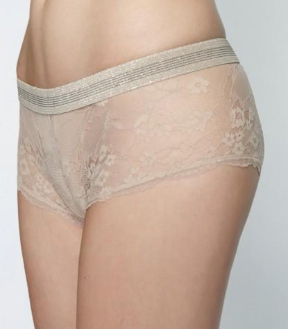 Nude Lace Culotte