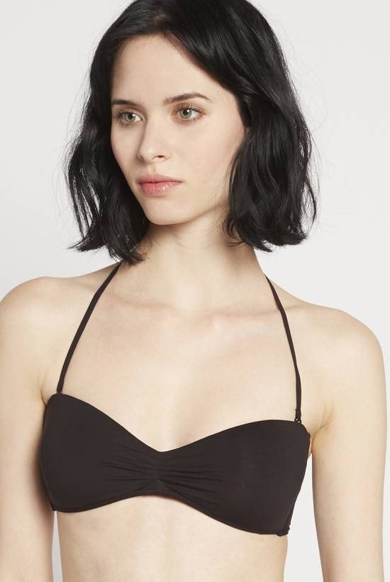 Basic bandeau bra Black V18-1-