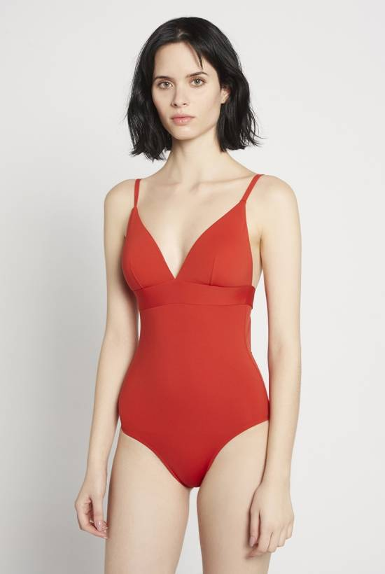 Basic swimsuit Carmin V18-1-