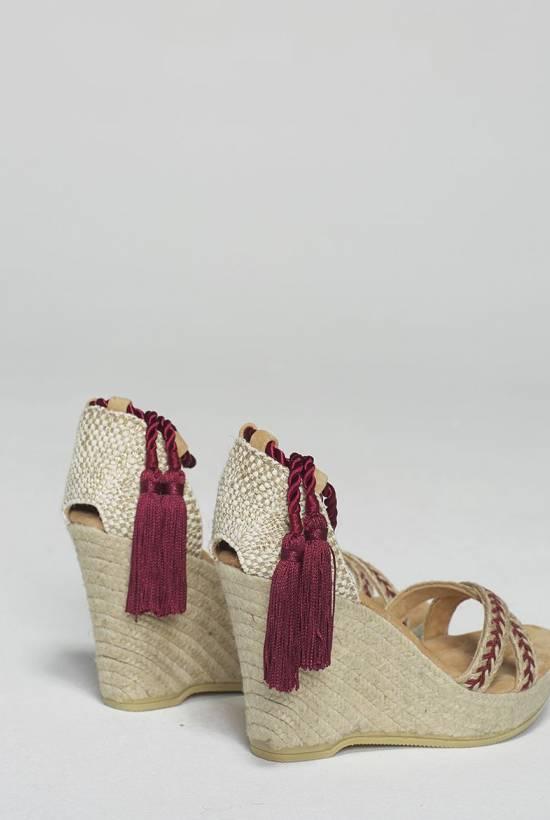 Wedge-heeled sandals