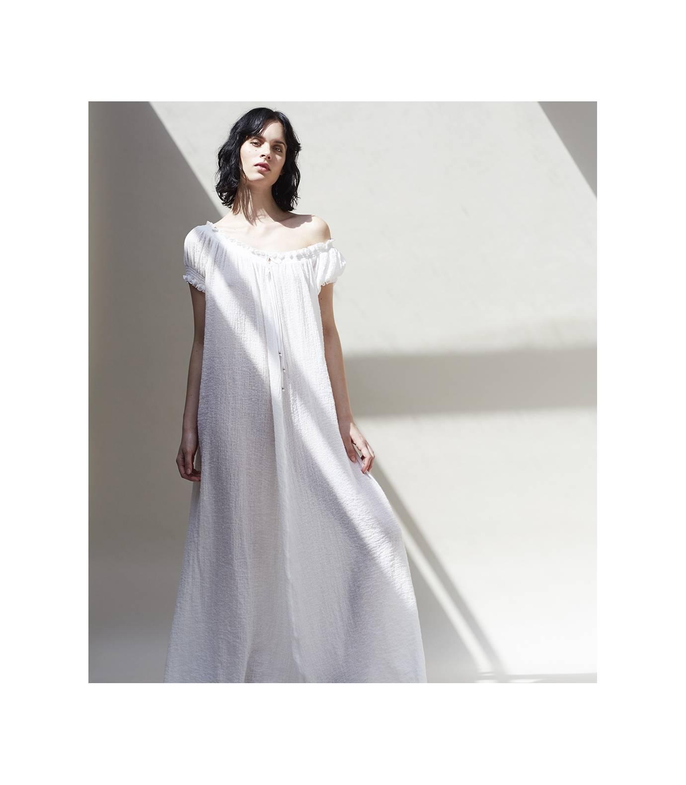Bambula Maxi Dress Eucalipto