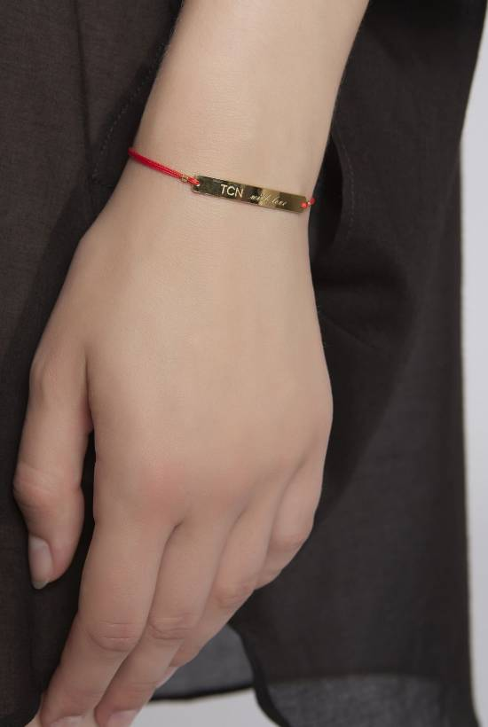TCN with love Bracelet RED