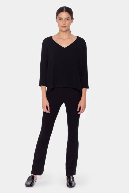 Stretch viscose blouse
