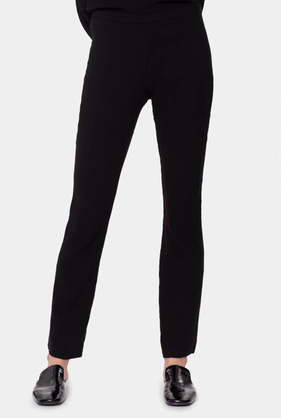 Stretch viscose trousers