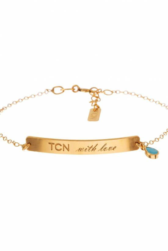 TCN with love gold bracelet