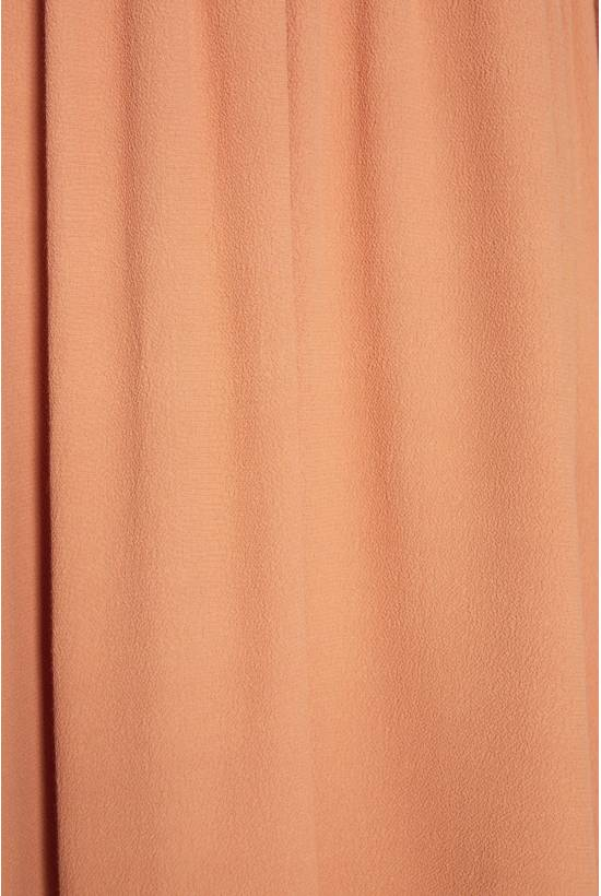 Viscose crepe dress ROSE