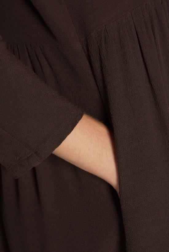 Viscose crepe dress