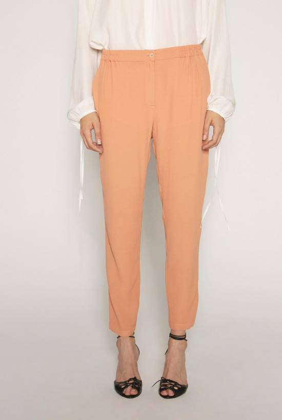 Viscose crepe pants ROSE