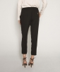 Viscose crepe pants