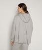 Oversize Hooded Sweat Jacket