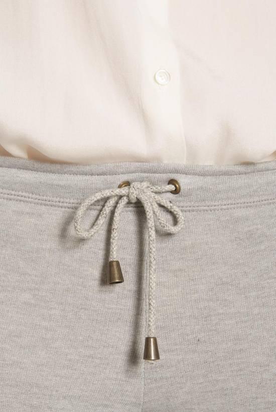 Skinny fleece trousers