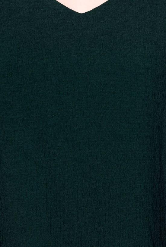 Stretch viscose blouse DARK