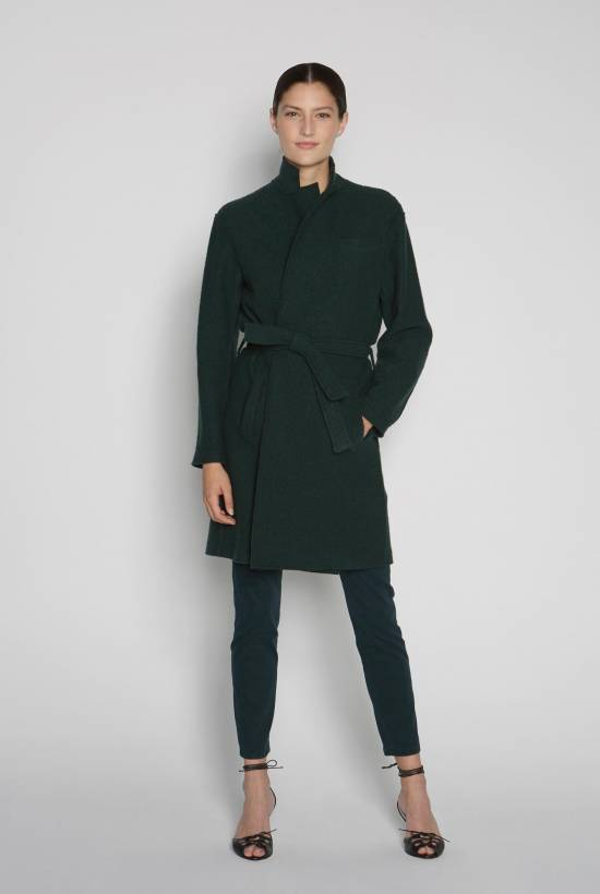 Wool coat DARK