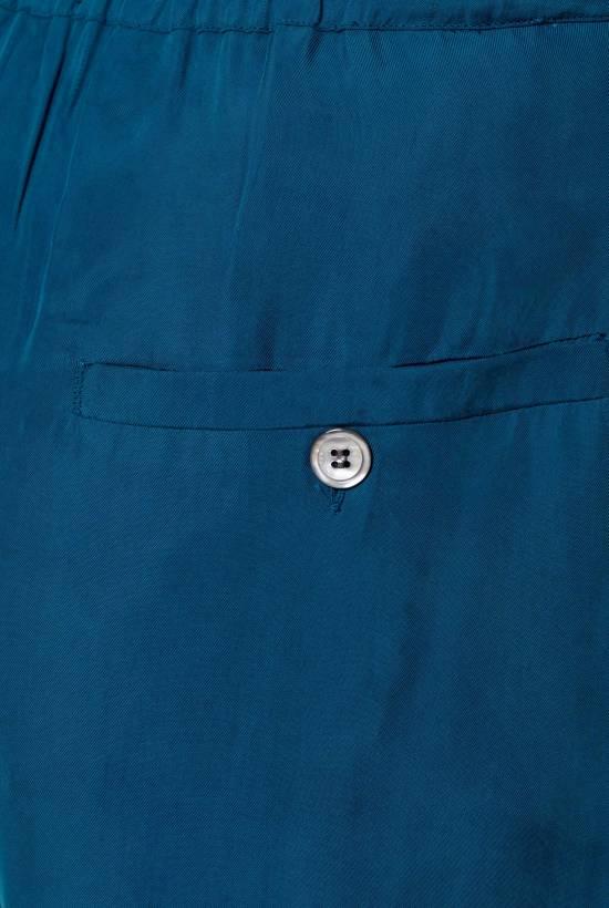 Cupro trousers BLEU