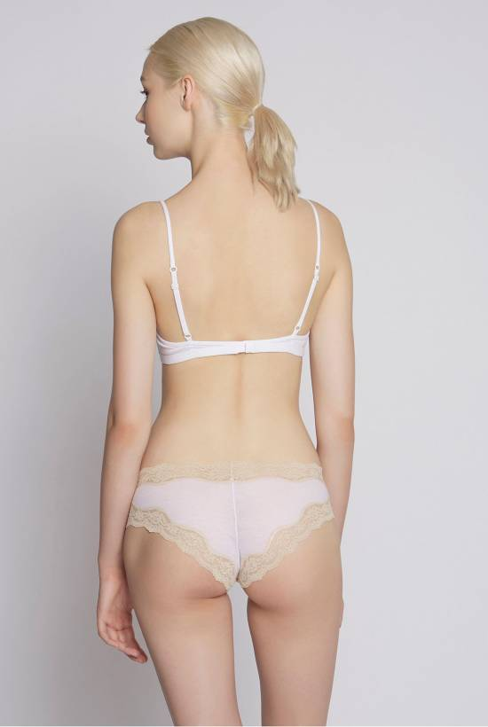 Cotton Halterneck Bra