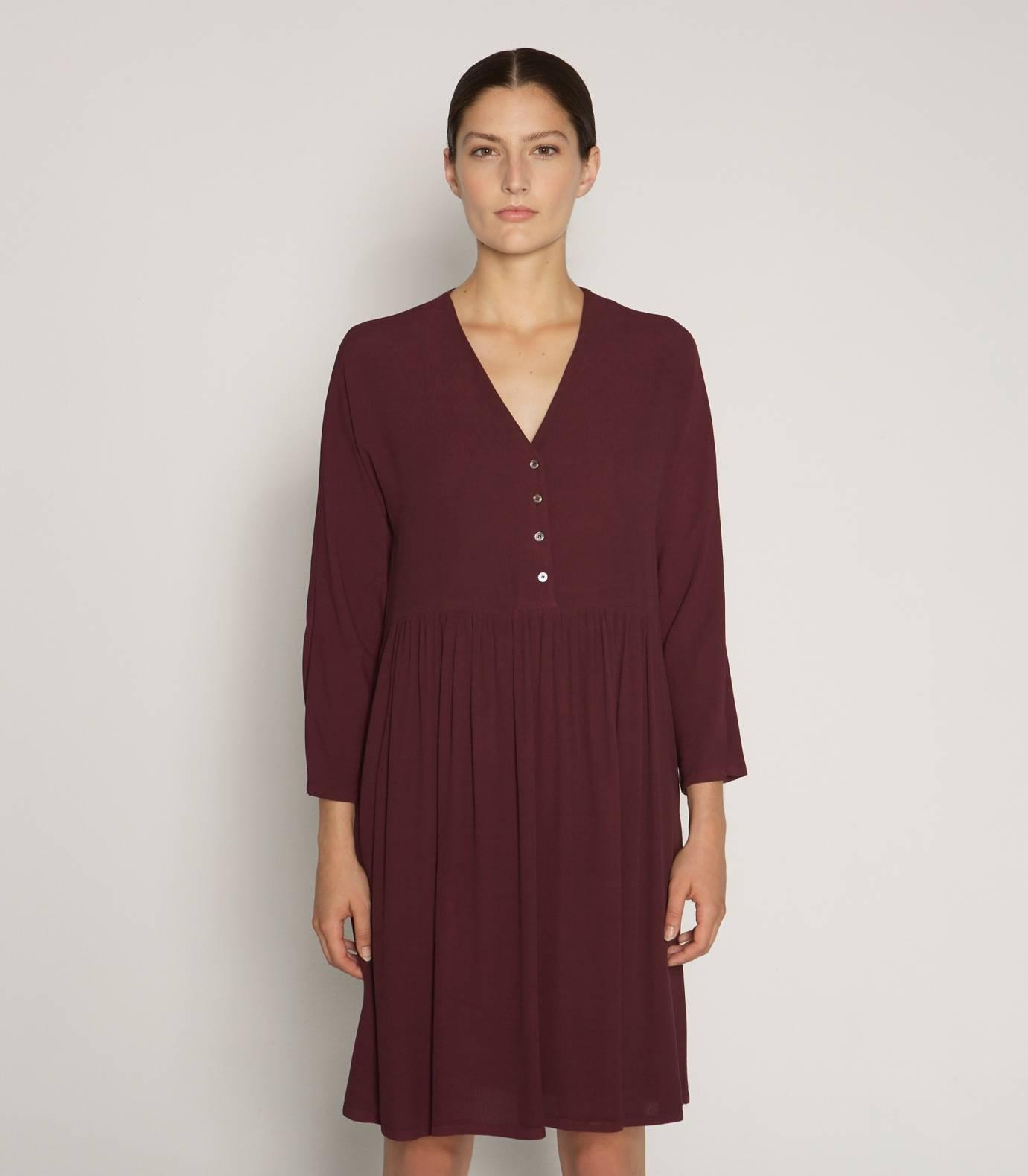 Vestido Crepe Viscosa