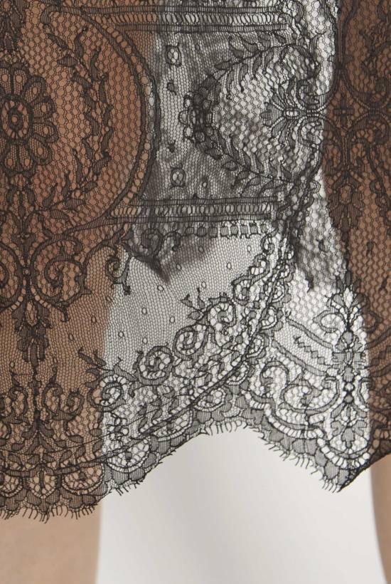 Lace slip skirt
