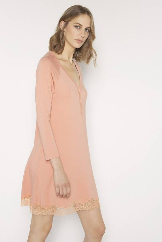 Cotton modal nightdress