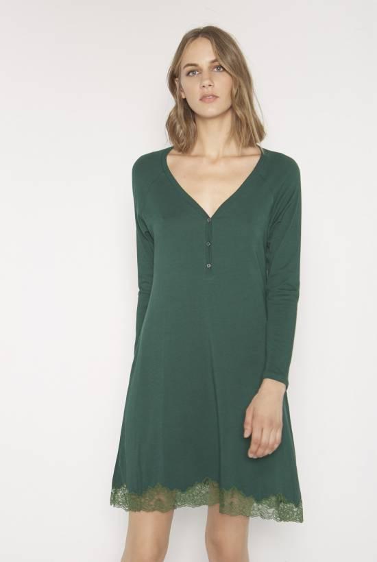Cotton modal nightdress