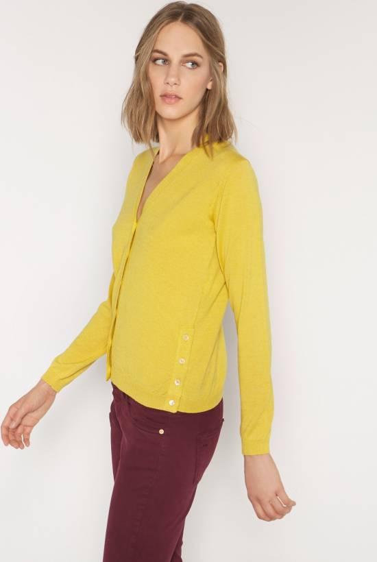 Soft tricot cardigan