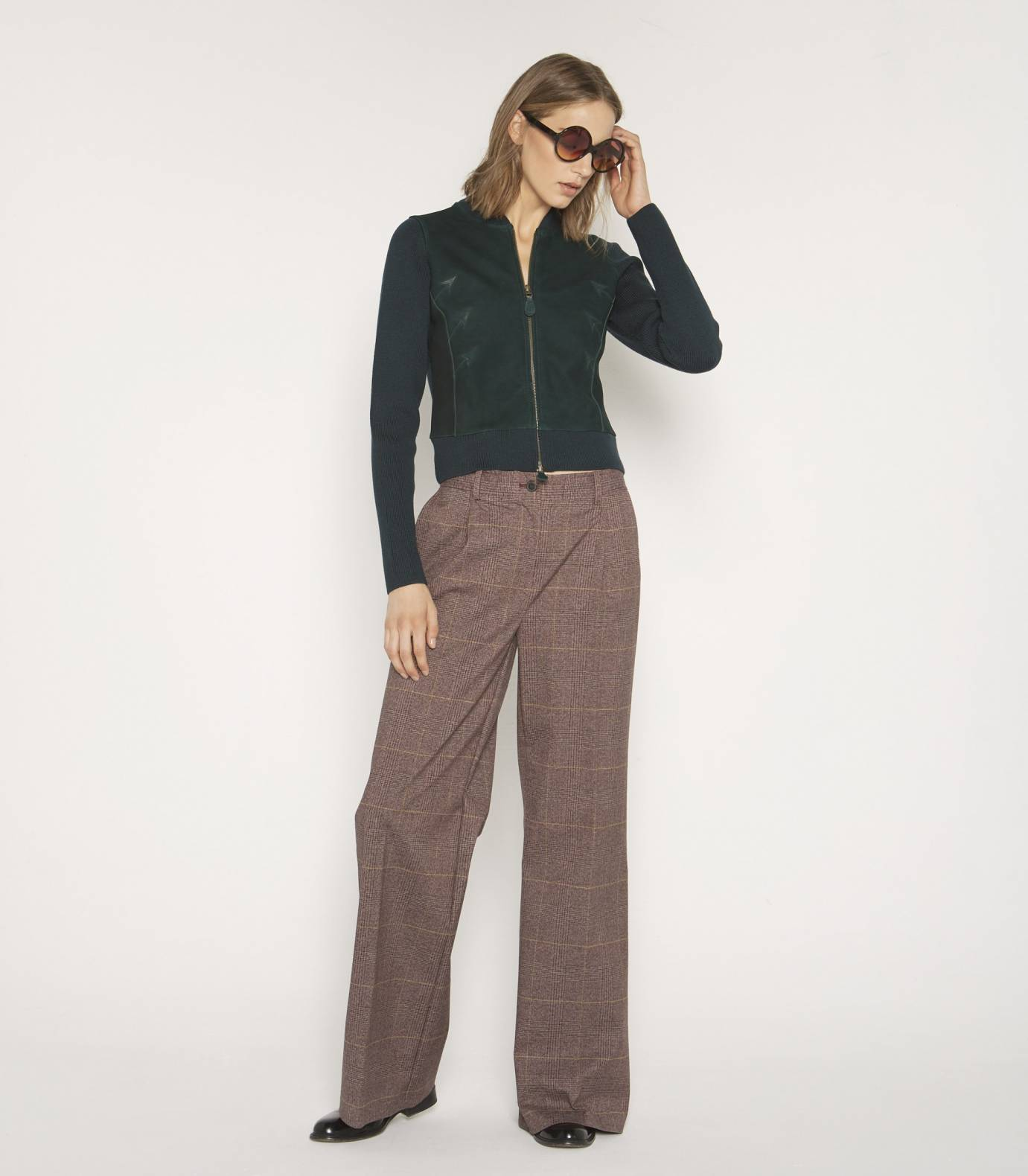 Red Wales trousers