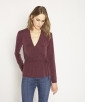 Cupro knit blouse