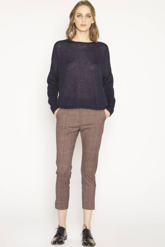 Tricot mohair jersey