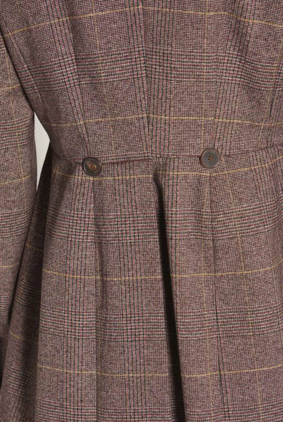 Red Wales frock coat