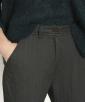 Skinny herringbone trousers