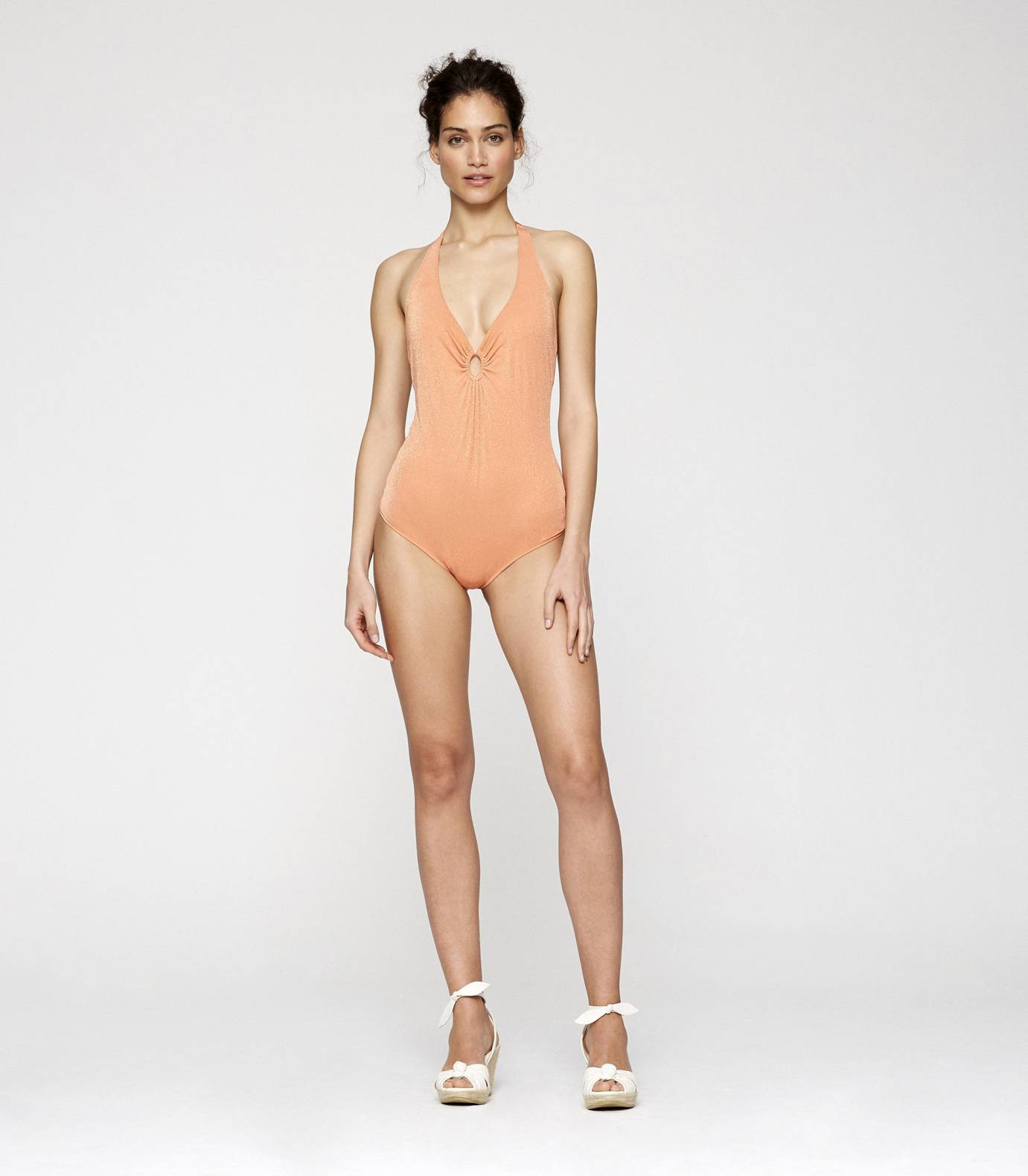 Gloss One Piece Swimsuit
