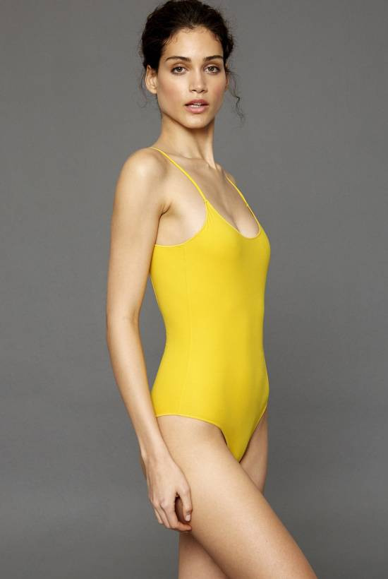 Basic Compac One Piece Swimsuit