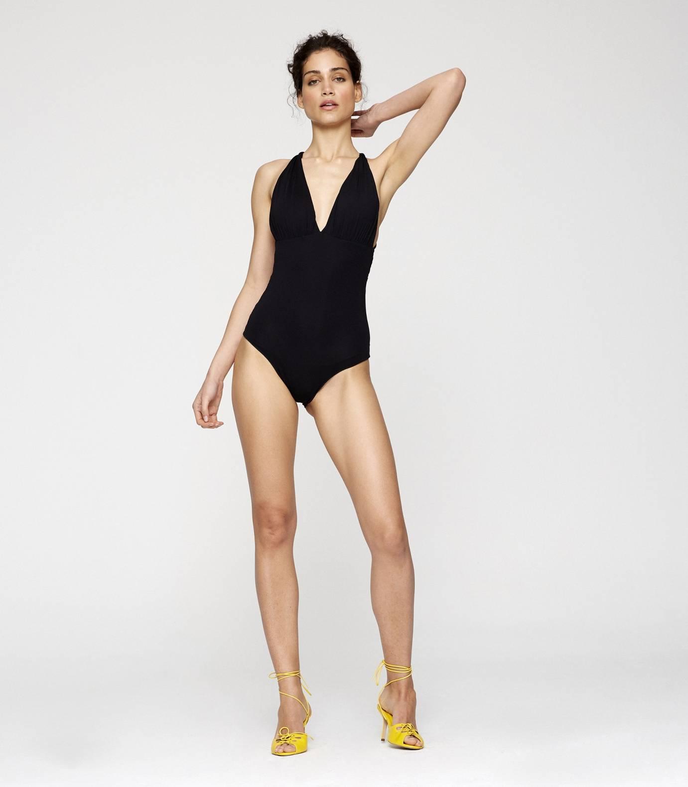 Compac Drape One Piece Swimsuit