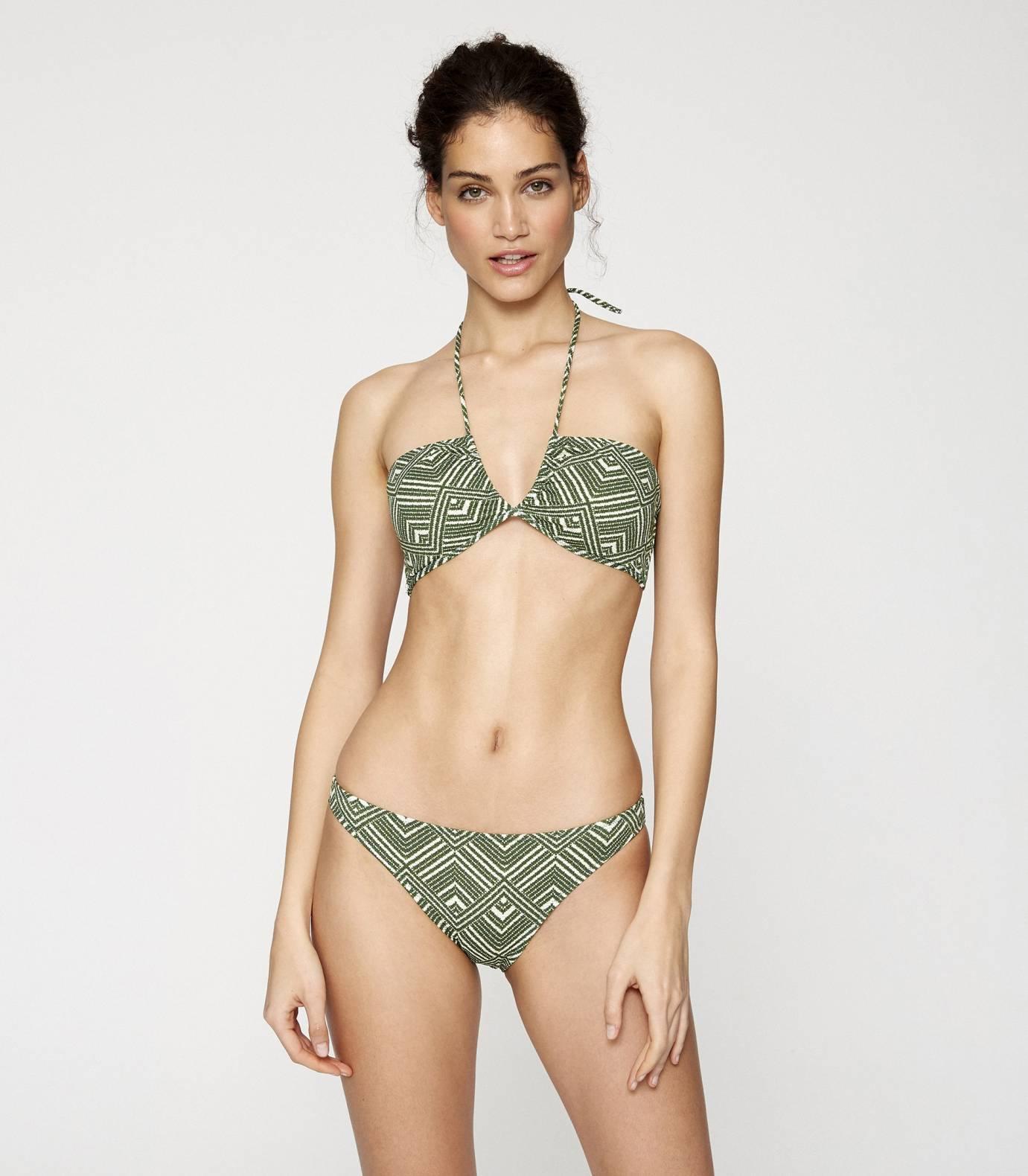 Retro Bandeau Bikini