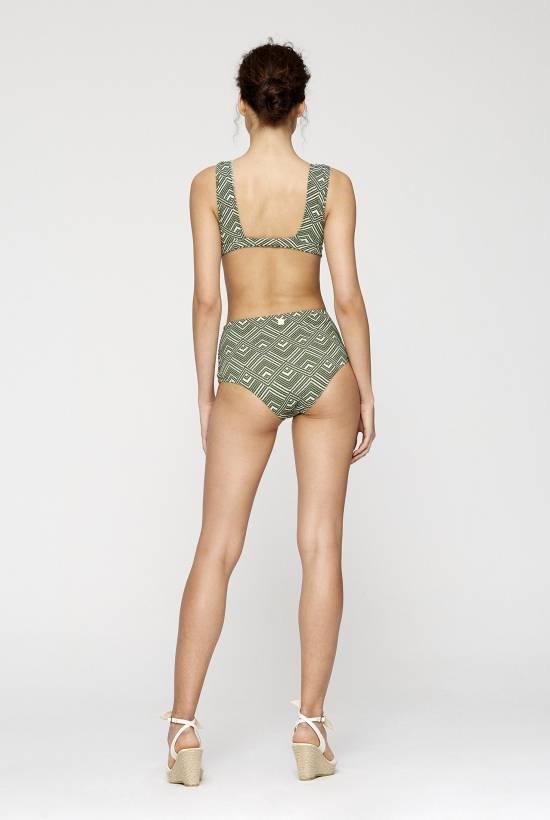 Retro Halter Bikini