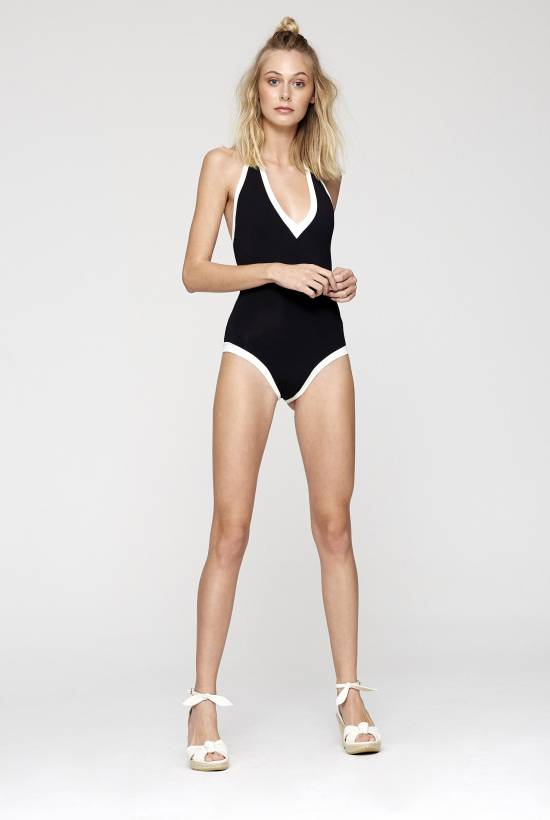 Two One Piece Swimsuit