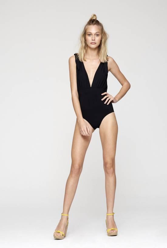 Uni Bt Deep Scoop One Piece Swimsuit