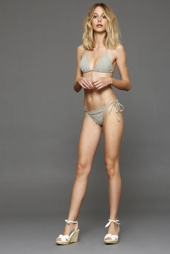 Vichy Triangle Bikini